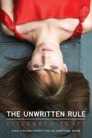 The Unwritten Rule - Elizabeth Scott
