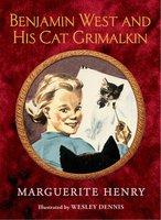 Benjamin West and His Cat Grimalkin - Marguerite Henry