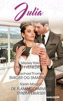 Nat i Venedig/Smiger og smaragder/De flamingofarvede strømpebukser - Maisey Yates, Sarah Morgan, Rachael Thomas