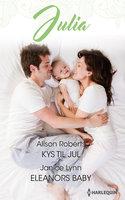 Kys til jul / Eleanors baby - Alison Roberts,Janice Lynn