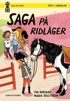 Saga och Max 6 - Saga på ridläger - Pia Hagmar