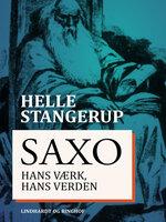 Saxo: hans værk, hans verden - Helle Stangerup