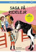 Saga på ridelejr - Pia Hagmar