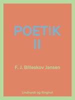 Poetik bind 2 - F.J. Billeskov Jansen