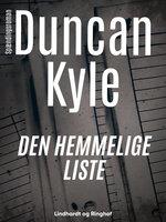 Den hemmelige liste - Duncan Kyle