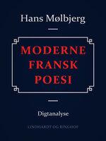 Moderne fransk poesi - Hans Mølbjerg