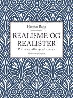 Realisme og realister - Herman Bang