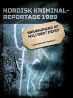 Sprængning af militært depot - Diverse