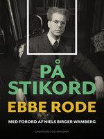 På stikord - Ebbe Rode