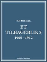 Et tilbageblik 3 - H.P. Hanssen
