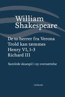Samlede skuespil / bd. 1 - William Shakespeare