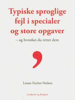 Typiske sproglige fejl - Louise Fischer Nielsen