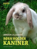 Børn holder kaniner - Jørgen Liljensøe
