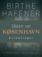 Sådan var København - Birthe Haffner