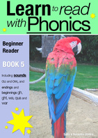 Learn to Read with Phonics - Book 5 - Sally Jones
