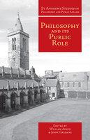 Philosophy and Its Public Role - William Aiken