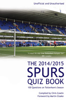 The 2014/2015 Spurs Quiz Book - Chris Cowlin
