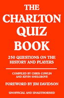 The Charlton Quiz Book - Chris Cowlin