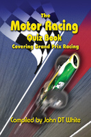 The Motor Racing Quiz Book - John DT White