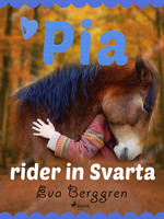 Pia rider in Svarta - Eva Berggren