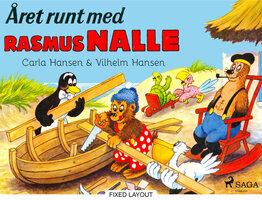 Året runt med Rasmus Nalle - Carla Hansen,Vilhelm Hansen