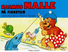 Rasmus Nalle på fisketur - Carla Hansen,Vilhelm Hansen