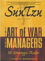 Sun Tzu: The Art of War for Managers - Sun Tzu, Gerald A Michaelson