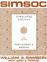 SIMSOC: Simulated Society, Participant's Manual: Fifth Edition (Participant's Manual) - William A. Gamson