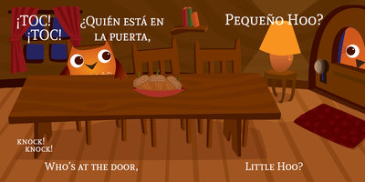Who's Coming for Dinner, Little Hoo? / ¿Quién viene a cenar, Pequeño Hoo? - Brenda Ponnay