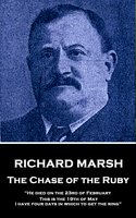 The Chase of the Ruby - Richard Marsh