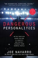 Dangerous Personalities - Joe Navarro, Toni Poynter