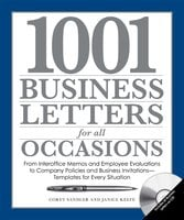 1001 Business Letters for All Occasions - Corey Sandler,Janice Keefe