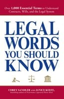 Legal Words You Should Know - Corey Sandler, Janice Keefe