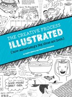 The Creative Process Illustrated - W. Glenn Griffin, Deborah Morrison