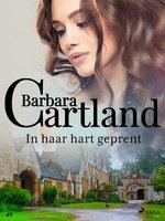 In haar hart geprent - Barbara Cartland