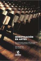 Investigación en artes - Pedro Morales, Adyel Quintero