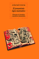 El pensamiento lógico-matemático - José Miguel Sagüillo Fernández-Vega