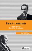 El arte de la palabra justa - César Mejía Chiang