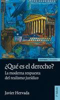 ¿Qué es el derecho? - Javier Hervada