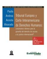 Tribunal Europeo y Corte Interamericana de Derechos Humanos: ¿escenarios idóneos para la garantía del derecho de acceso a la justicia internacional? - Acosta Alvarado Paola Andrea