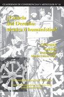 Ciencia del derecho: Técnica o humanística - Jakobs Günther