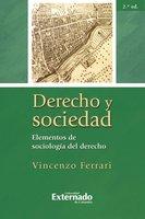 Derecho y sociedad. Elementos de sociología del derecho, 2.ª ed. - Ferrari Vincenzo