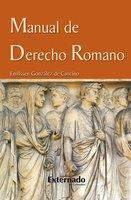 Manual de derecho romano - Emilssen González de Cancino