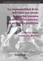 La responsabilidad de los individuos por abusos de derechos humanos en conflictos internos - Bruno Simma, Andreas L. Paulus