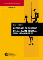 Lecciones de derecho penal - Iván Meini