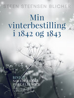 Min vinterbestilling i 1842 og 1843. Bind 2 - Steen Steensen Blicher