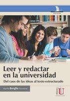 Leer y redactaren la universidad - Martha Boeglin Naumovic