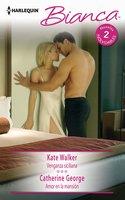 Venganza siciliana - Amor en la mansión - Catherine George,Kate Walker