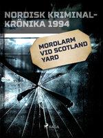 Mordlarm vid Scotland Yard - Diverse