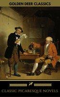 Classic Picaresque Novels (Golden Deer Classics) - Rudyard Kipling, Mark Twain, Voltaire, Daniel Defoe, Henry Fielding, Nikolai Gogol, Tobias Smollett, Golden Deer Classics